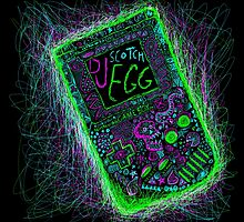 neon punk gameboy by cavia