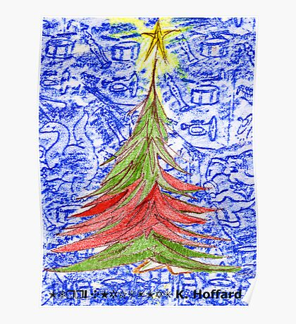 Oh Christmas Tree Poster