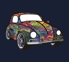 Buggin' - Psychedelic  One Piece - Long Sleeve
