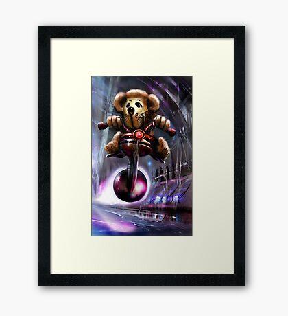 TeddyDawg Framed Print