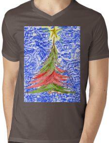 Oh Christmas Tree Mens V-Neck T-Shirt