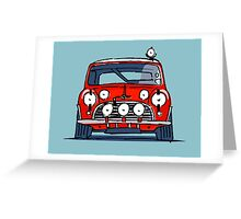Fortitude's Mini Cooper S ''Mini But Mighty'' Greeting Card