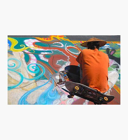 Abstract Skateboarding Photographic Print