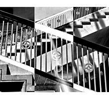 Zebra Geometry Photographic Print