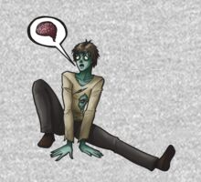 Sad Zombie by Maureen Babb