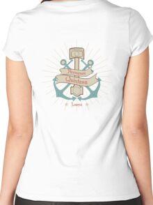 Taller Hermanos Quintana Garaje Luarca Asturias Women's Fitted Scoop T-Shirt