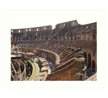 Gladiators' call Art Print