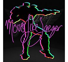 Moves Like Jaeger Photographic Print
