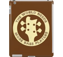 Bass Guitar Players iPad Case/Skin