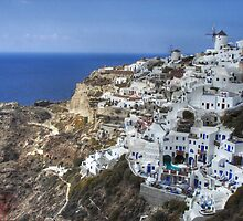 Santorini by Murray Newham