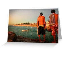Cottesloe Glow Greeting Card