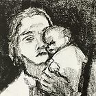 mother and child by Claudia Dingle