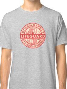 Hawaii Lifeguard Logo Classic T-Shirt