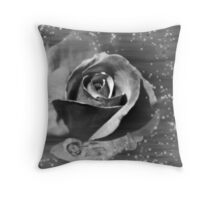 Rose Fairy Throw Pillow