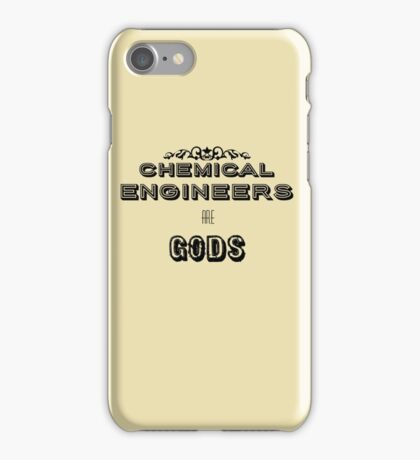 Chemical Engineers iPhone Case/Skin