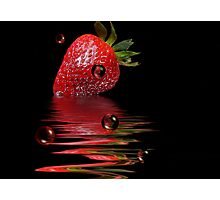 Bubble Berry Photographic Print