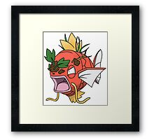 Forestkarp - The most fierce of the karps! Framed Print