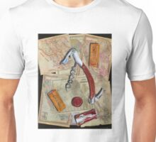 California Wine Terravina cork screw Unisex T-Shirt
