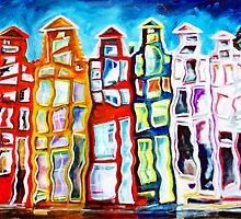 HOUSES by IRENE NOWICKI