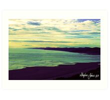 Raglan Sea Scape Art Print