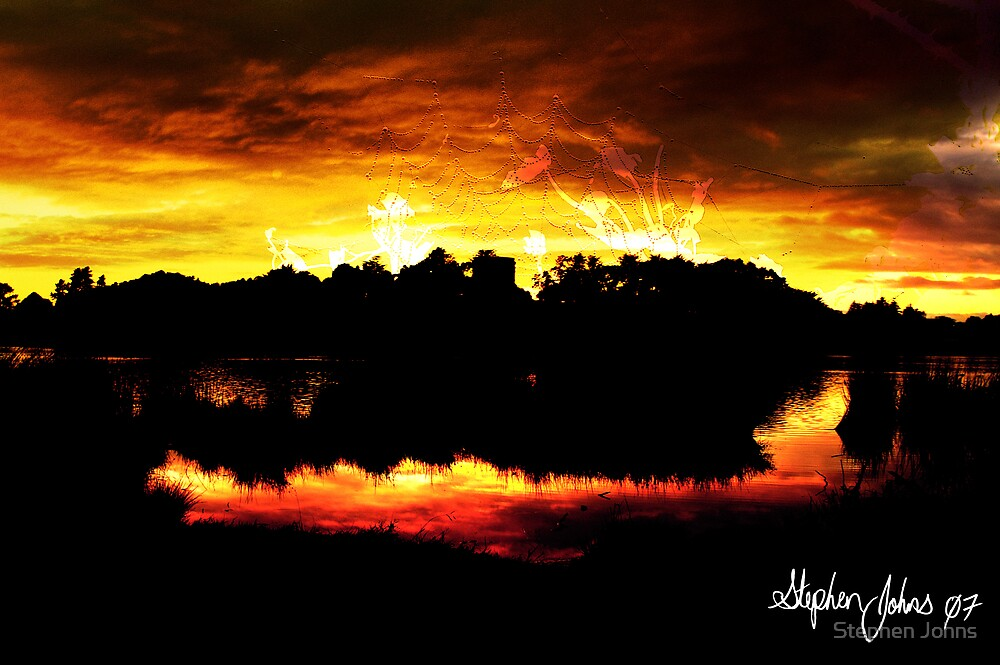 Fire Lake by Stephen Johns