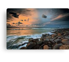 Evening calm Canvas Print
