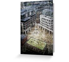 Paternoster Sq. Greeting Card