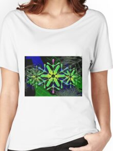 Dark Snowflake Women's Relaxed Fit T-Shirt