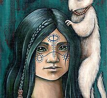 Lyra and Koti (Card) by NadiaTurner