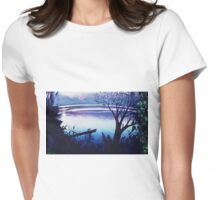 LAKE 2 Womens Fitted T-Shirt