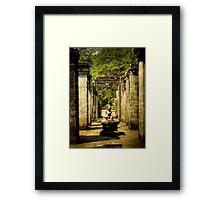 Halls of the Bayon Framed Print