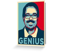 VINCE GILLIGAN GENIUS Greeting Card