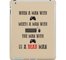 A fistful of games iPad Case/Skin