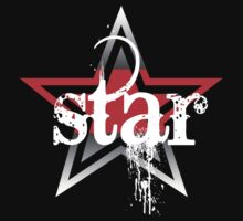 Star Bleed T-Shirt Design by idreambig
