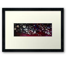 Evening Blossoms Framed Print