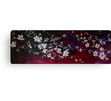 Evening Blossoms Canvas Print