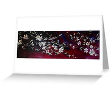Evening Blossoms Greeting Card