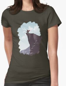 SUNRISE - Monster Yell Womens Fitted T-Shirt