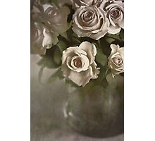 Antique Roses Photographic Print