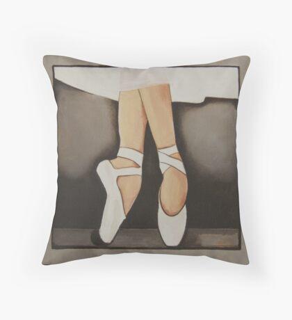 Ballet Shoes 1 Throw Pillow