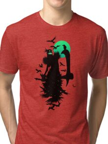 Fiddlesticks Crows Tri-blend T-Shirt
