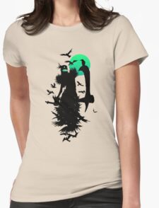 Fiddlesticks Crows Womens Fitted T-Shirt