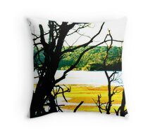 'View beyond' Throw Pillow