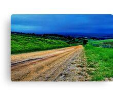 """Gully Road"" Canvas Print"