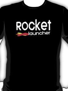 Rocket Launcher T-Shirt Design T-Shirt