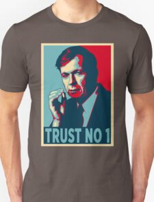 CIGARETTE SMOKING MAN TRUST NO 1 T-Shirt