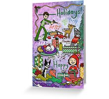 ________ Holidays! Greeting Card
