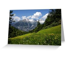Switzerland Landscape Greeting Card