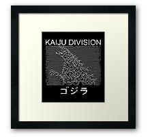 Kaiju Division Framed Print