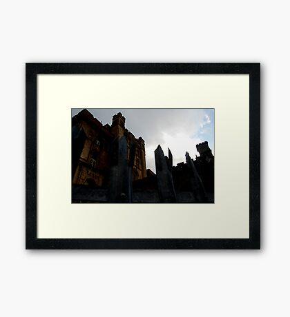 Lennox Castle Framed Print